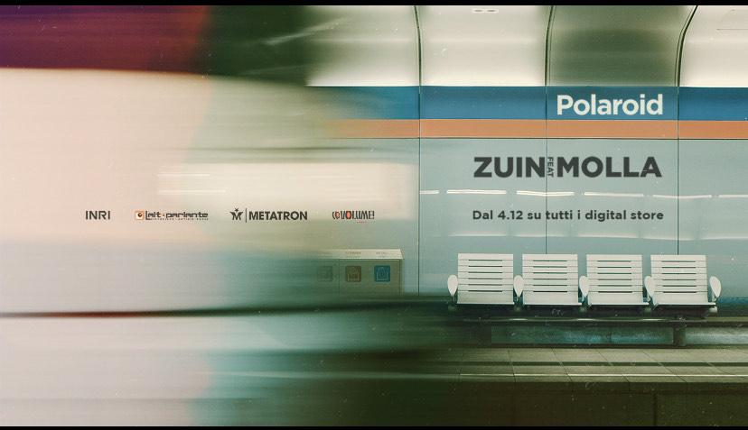 Zuin la sua musica in Polaroid un nuovo singolo con Molla