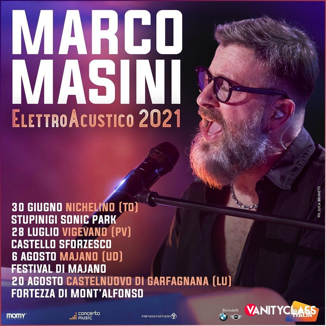 """Marco Masini: """"Mi sentivo in prigione. E' stato qualcosa di forte."""""""