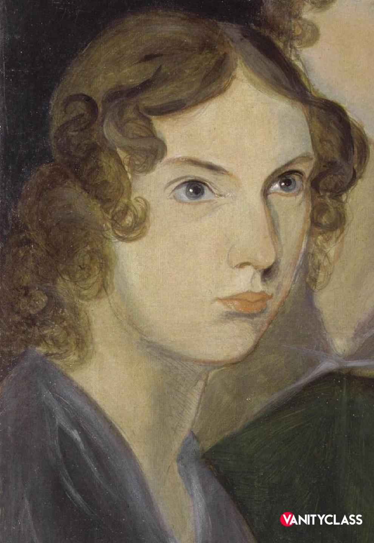 Anne Brontë. Dipinto di Patrick Branwell Brontë
