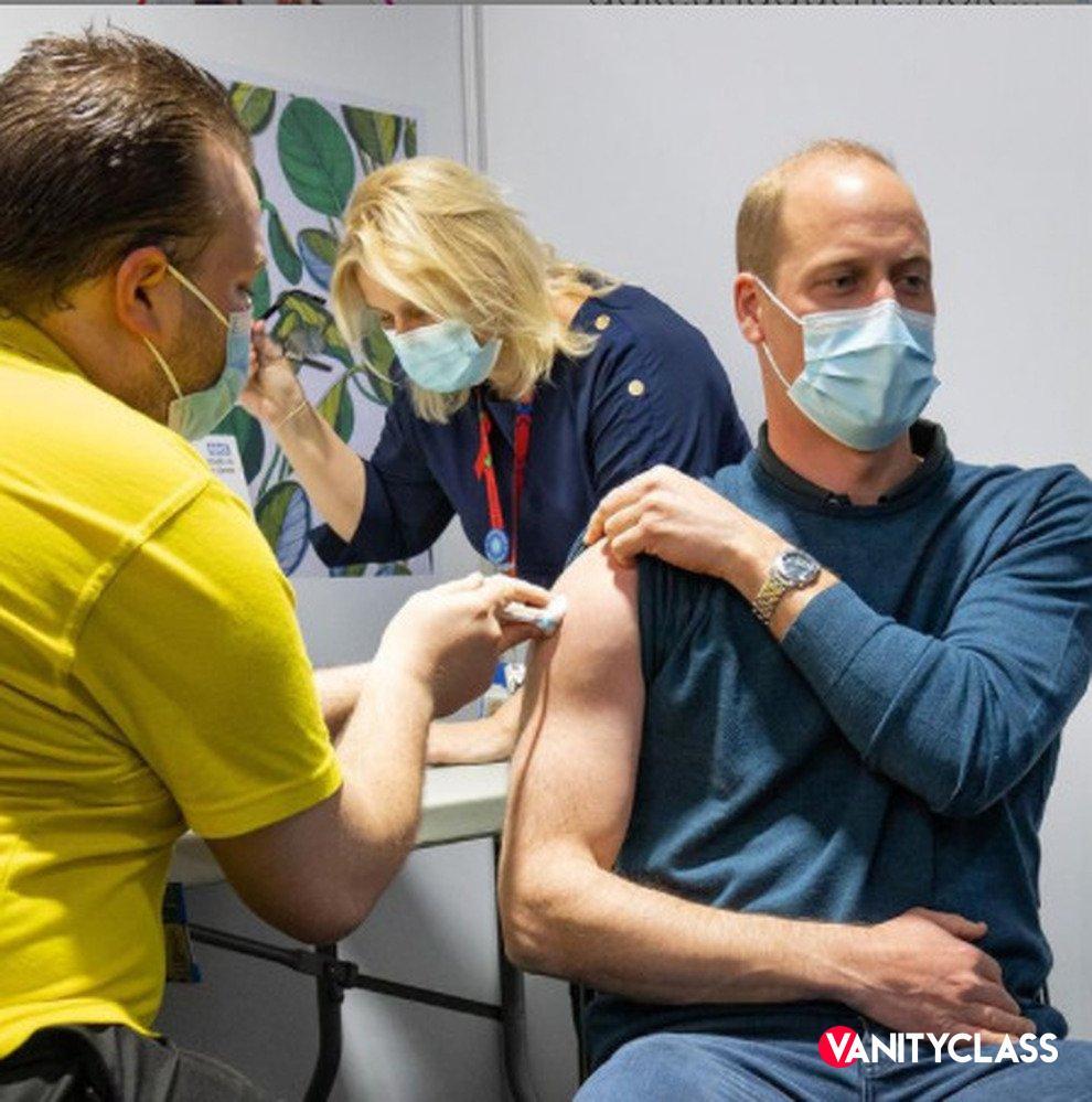 Kate e William ricevono il vaccino anti-Covid