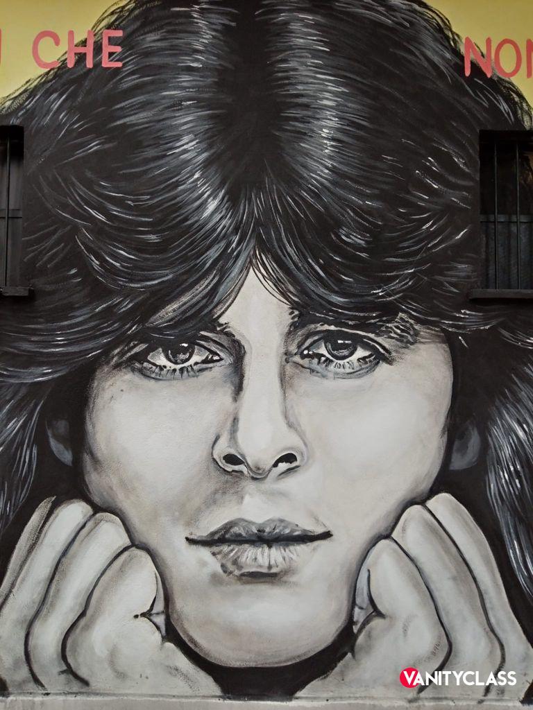 Claudio Baglioni compie 70 anni e i fan gli regalano un murales