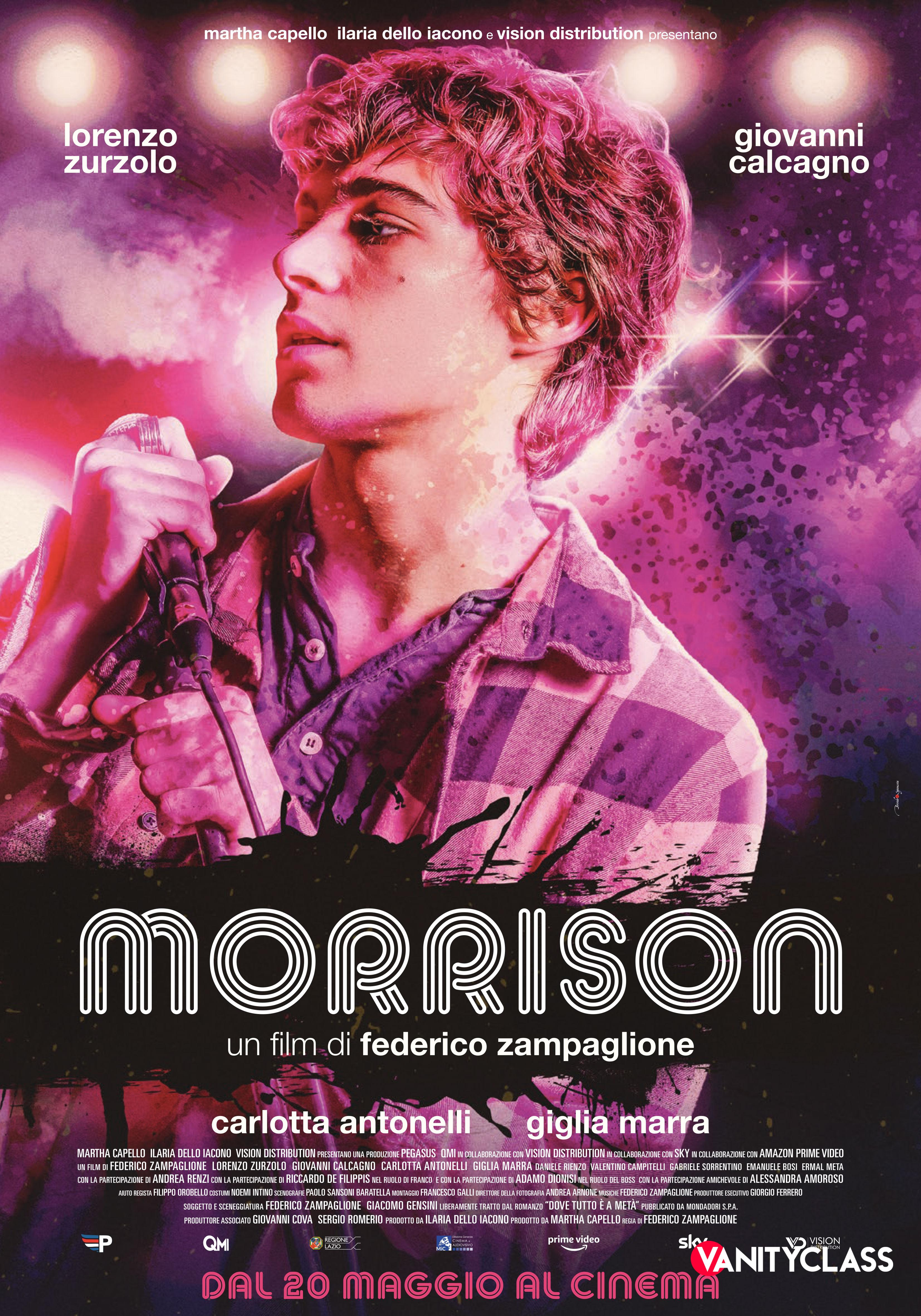 """MORRISON: """" UN FILM DI FEDERICO ZAMPAGLIONE"""""""