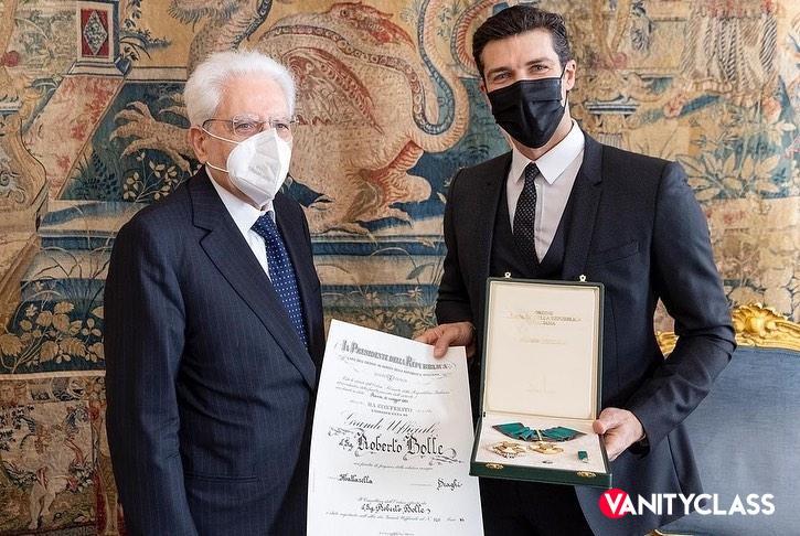 """Roberto Bolle: """"Grande Ufficiale dell'Ordine"""""""
