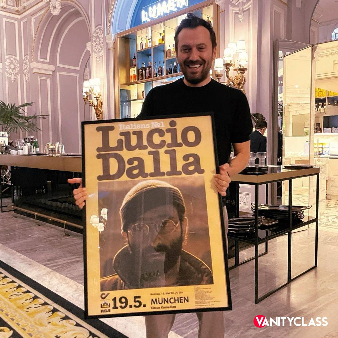 Cesare Cremonini regista per Lucio Dalla