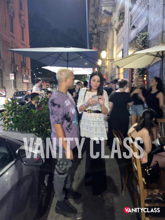 Eliana Michelazzo a Milano in compagna di Bryan Jimnz. Esclusiva VanityClass