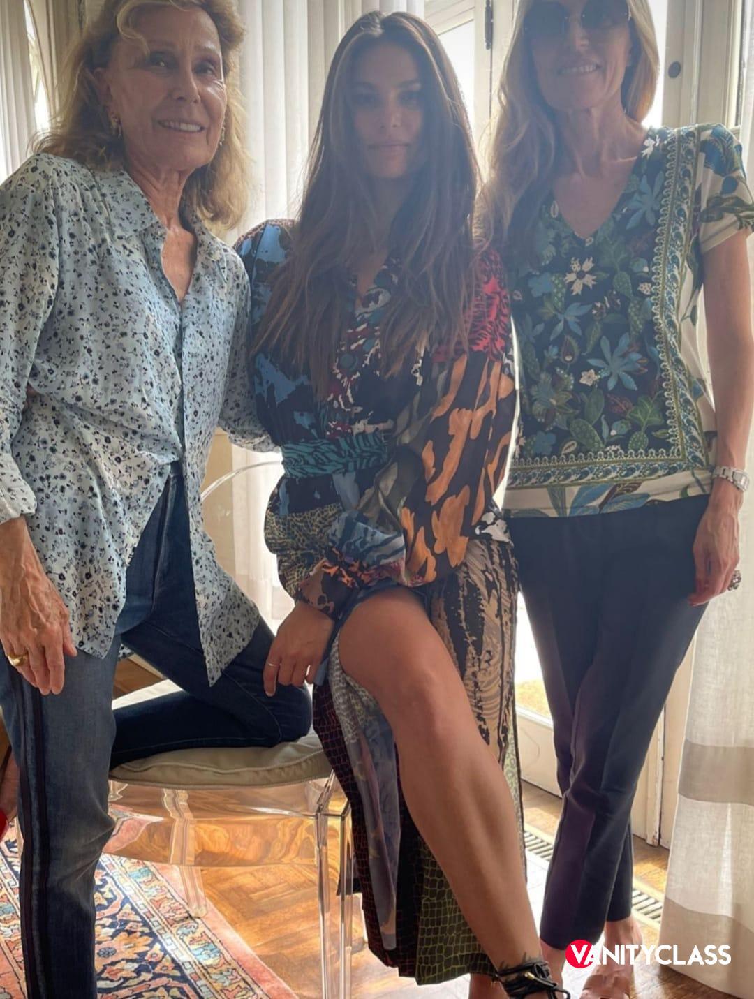 Dayane Mello a pranzo con la mamma dell'ex Carlo Beretta