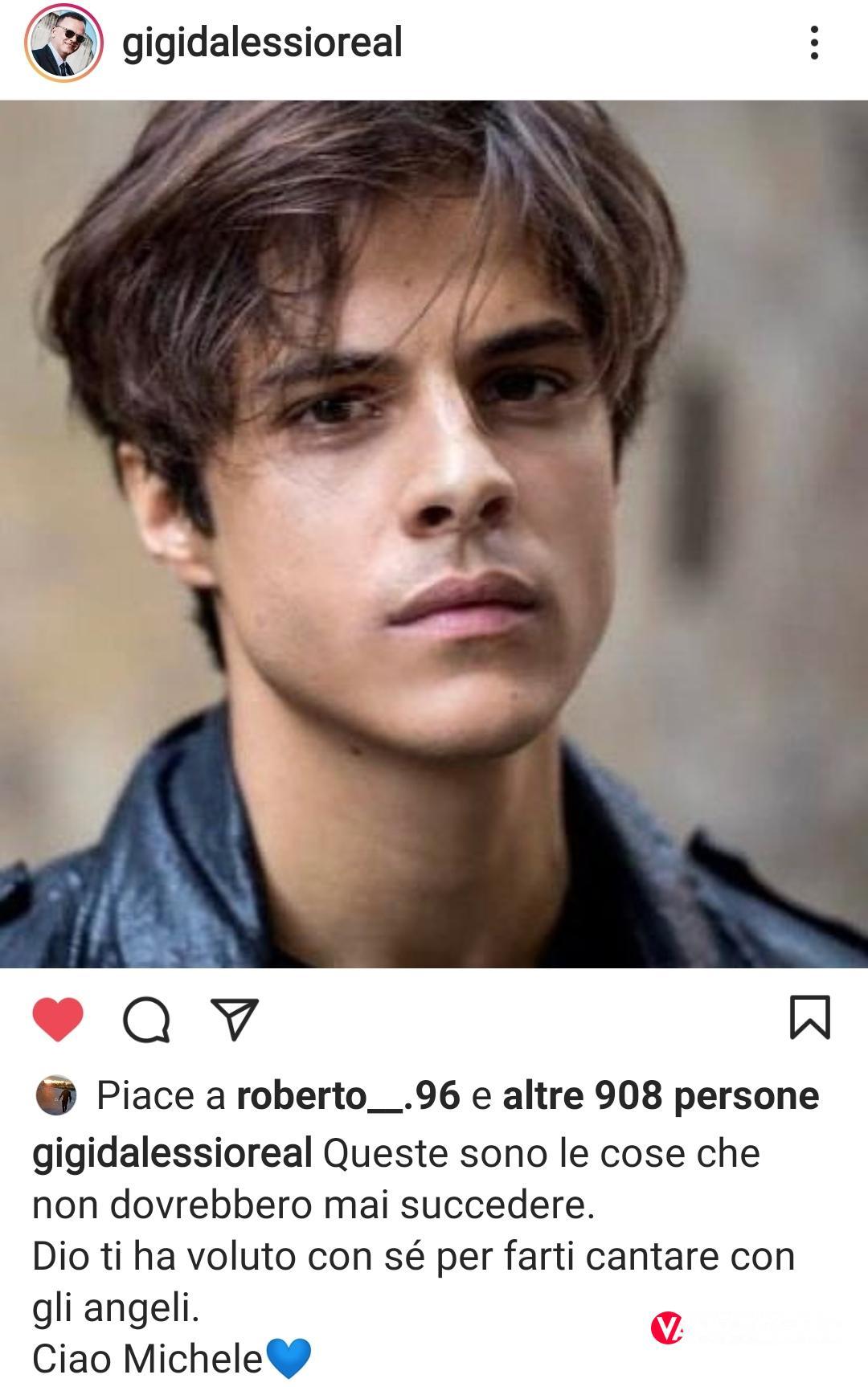 Emma Marrone ricorda l'amico Michele Merlo