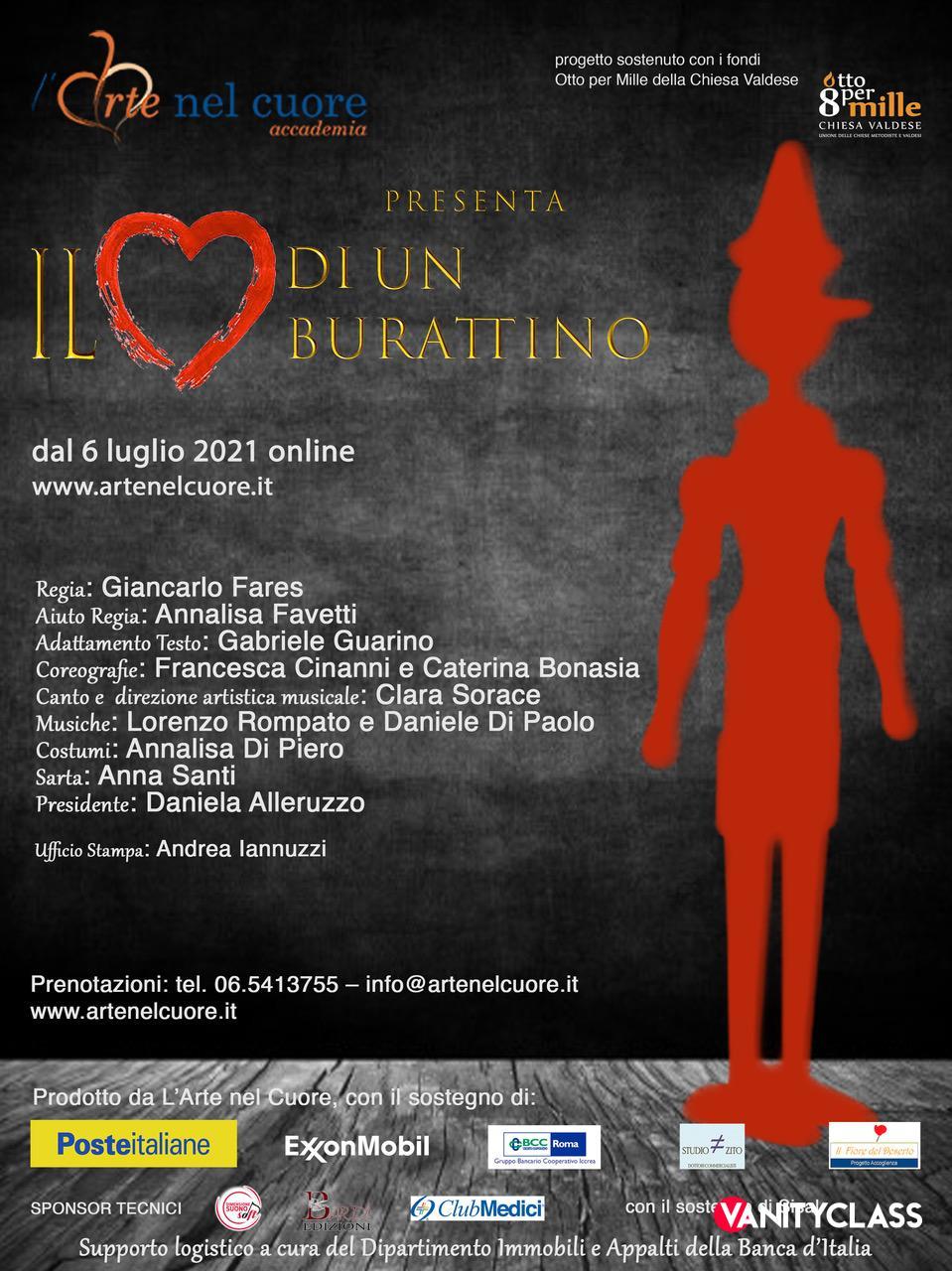 L'Arte Nel Cuore Onlus, da domani bis al Salone Margherita di Roma