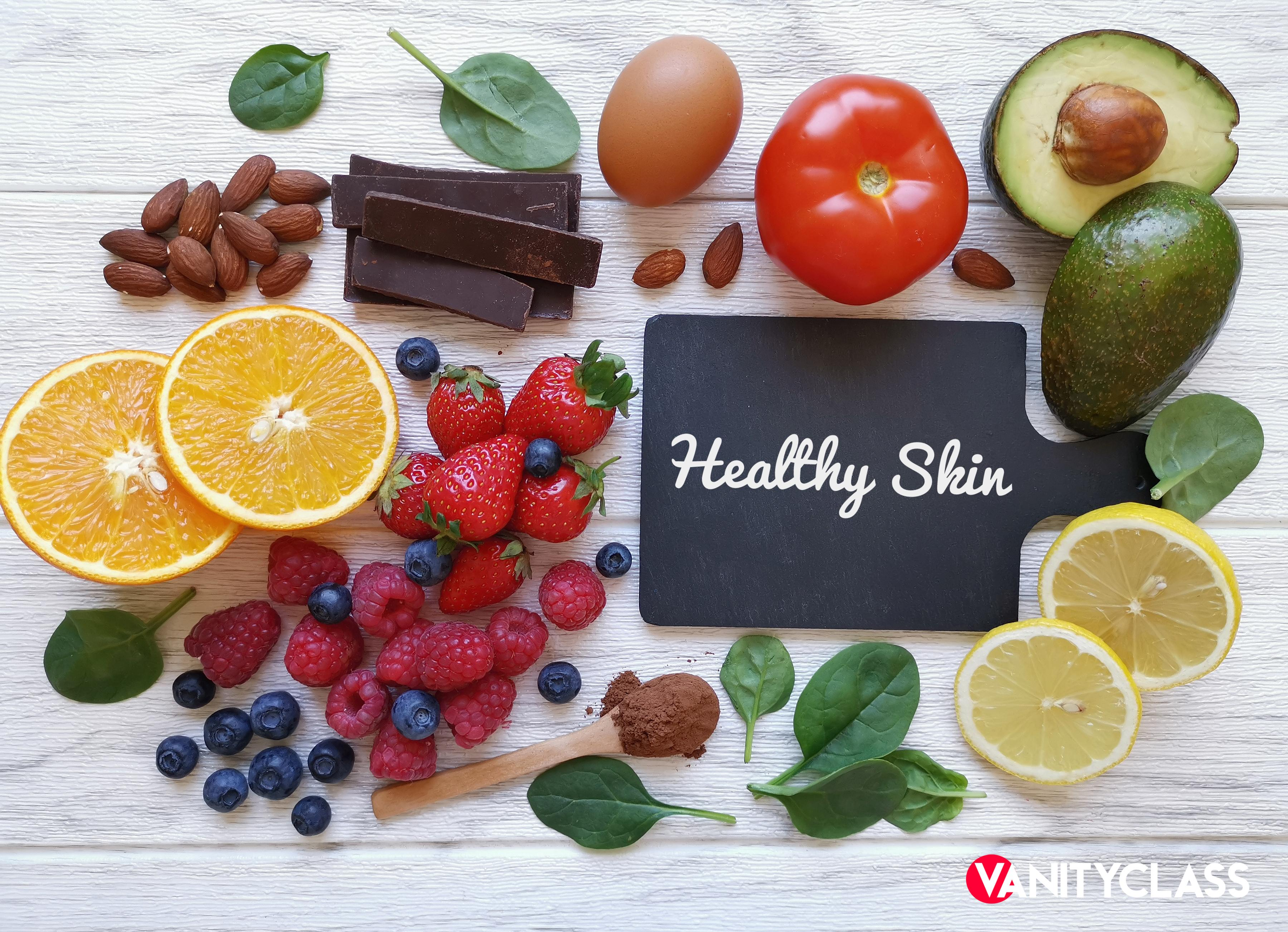 Alimentazione sana per una pelle in salute