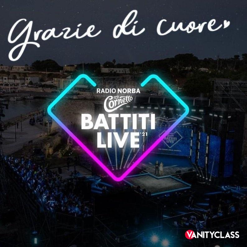 "ELISABETTA GREGORACI: ""CI SIAMO, PARTE RADIO NORBA - CORNETTO BATTITI LIVE"""