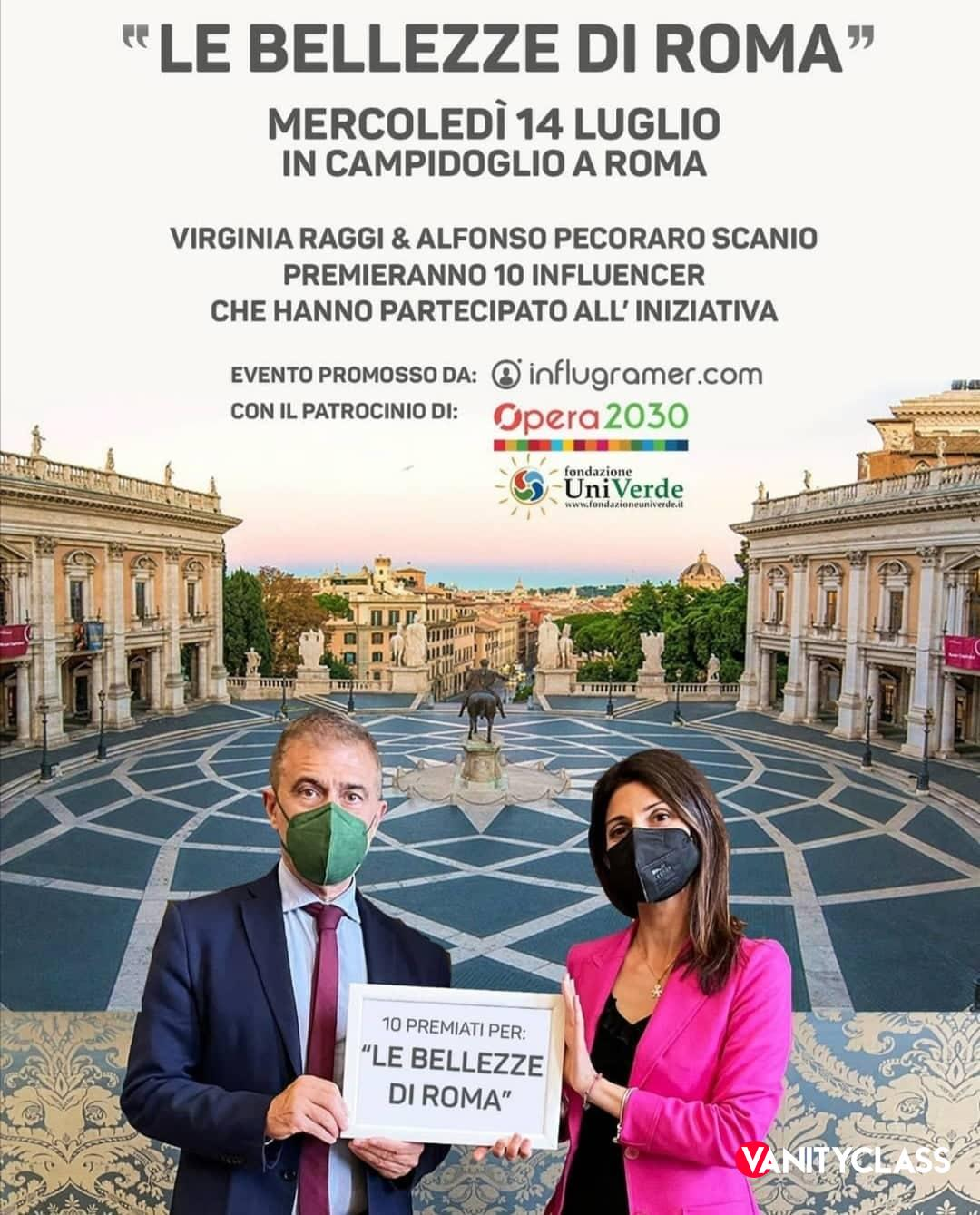 Le Bellezze Di Roma, consegnato il riconoscimento a 10 influencer
