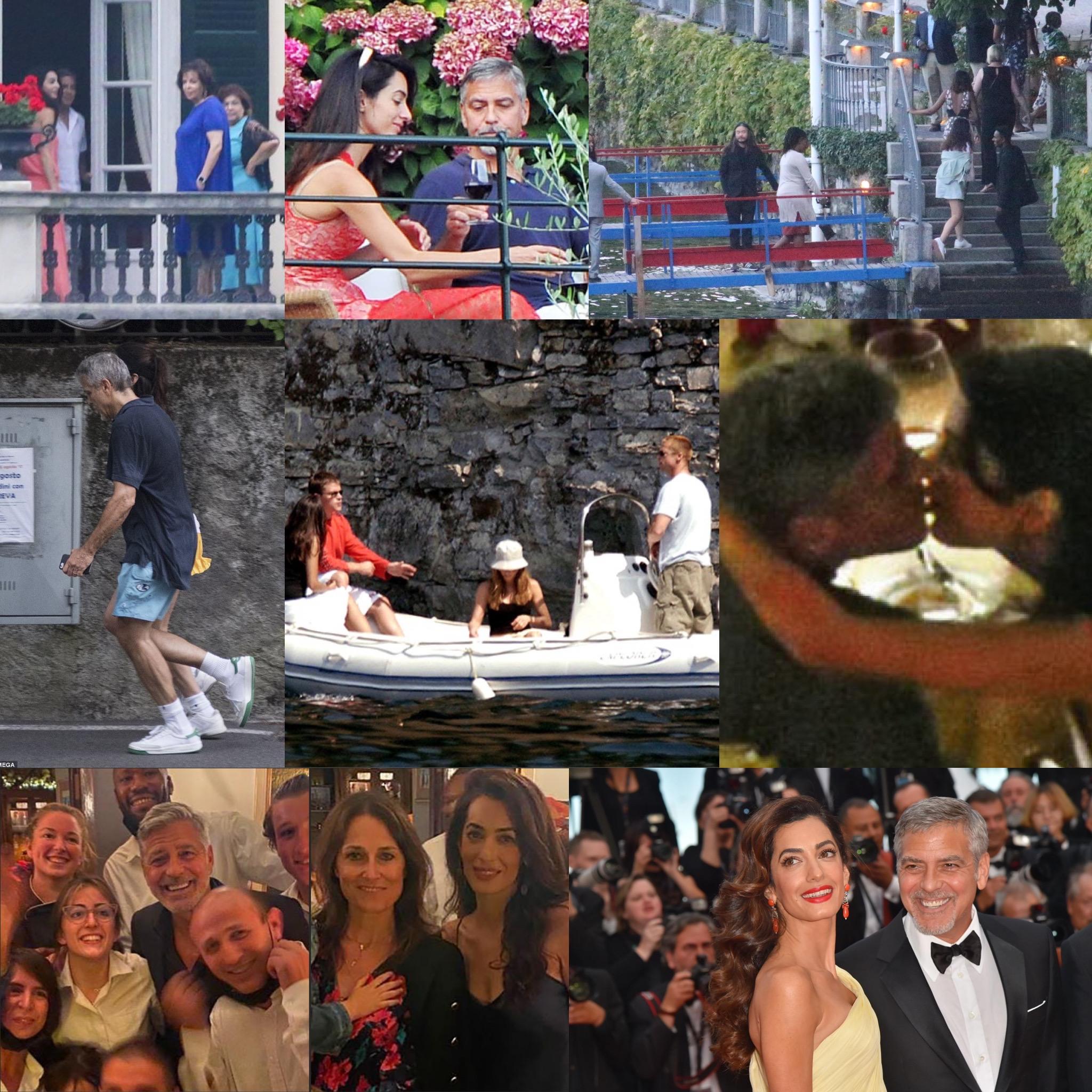 """George Clooney: da Luciano, il vero """"re"""" di Laglio"""