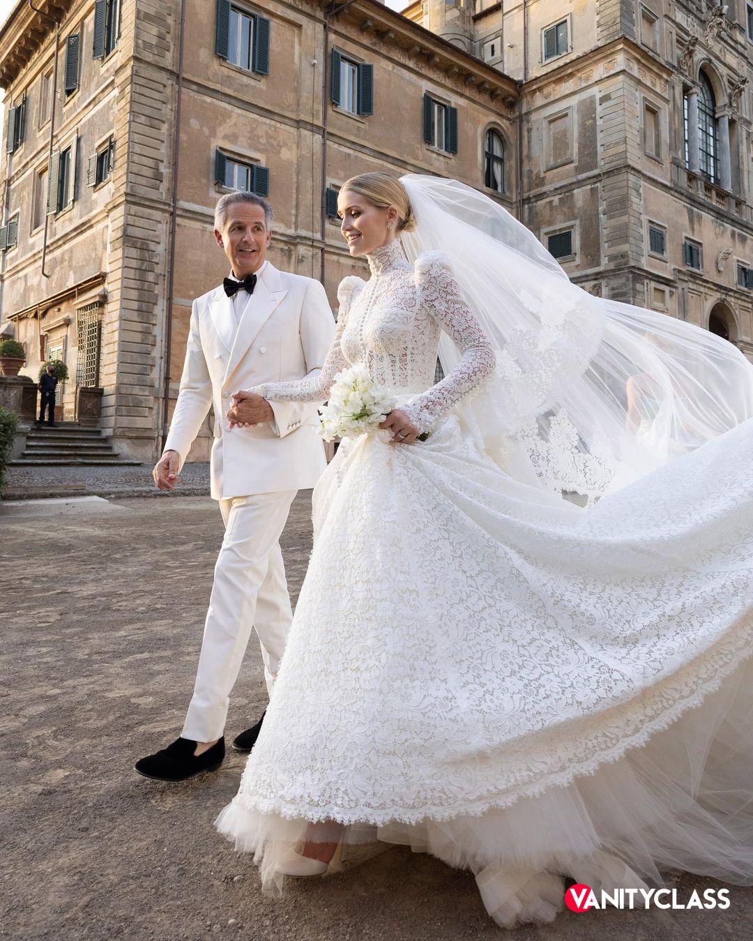 Il matrimonio di Lady Kitty Spencer e Michael Lewis
