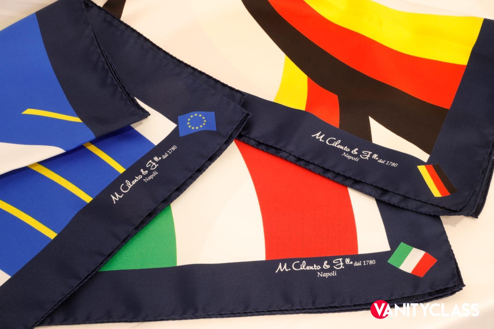Maison Cilento, cravatte e foulard protagonisti al G20 di Matera