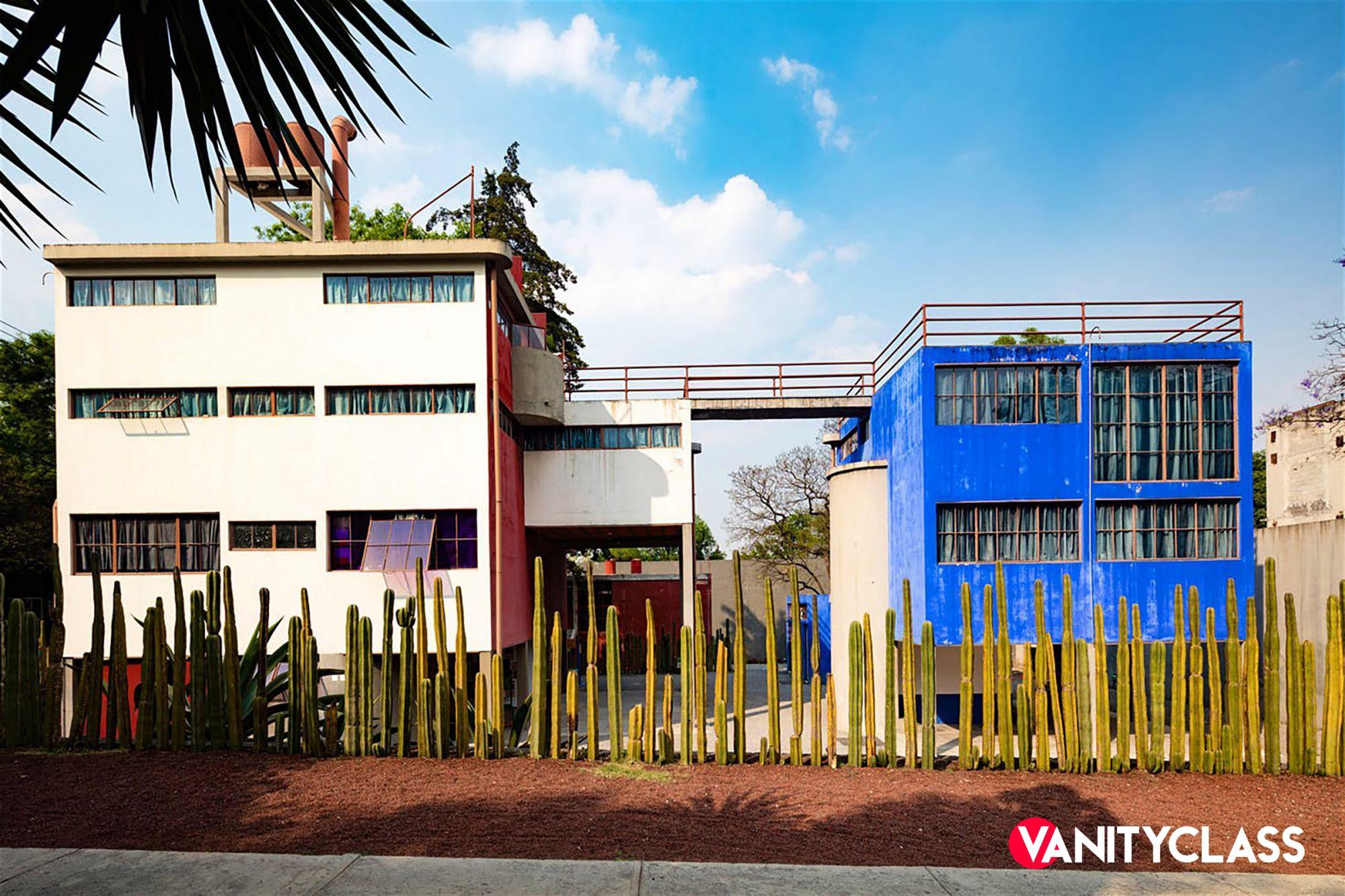 La casa di Diego Rivera e Frida Kahlo