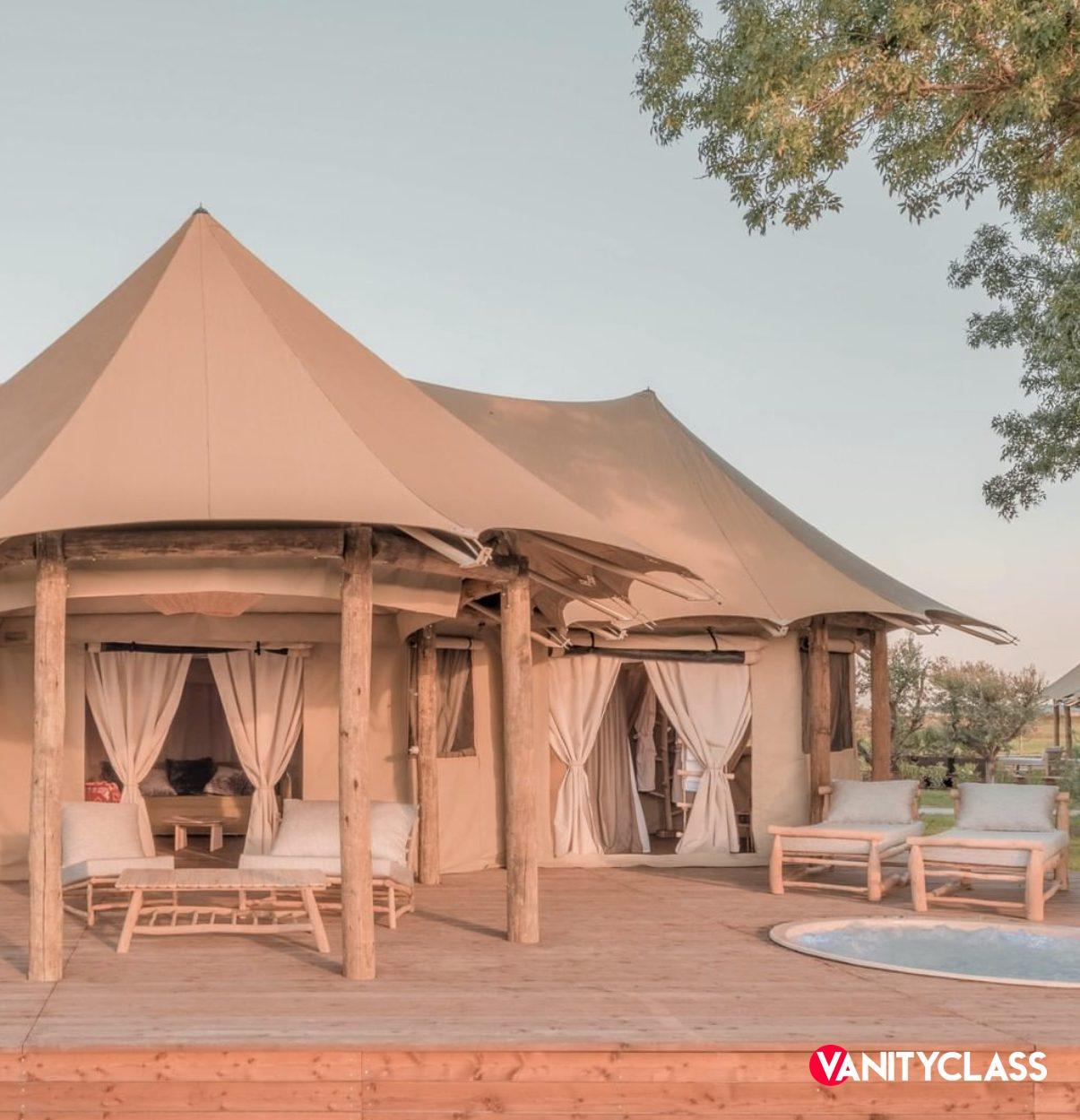 glamping tenda