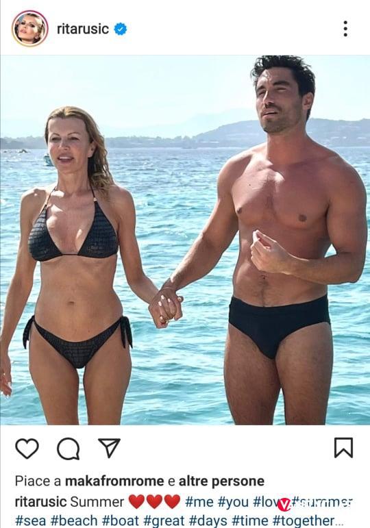 Rita Rusic presenta il nuovo fidanzato, ma scoppia la polemica