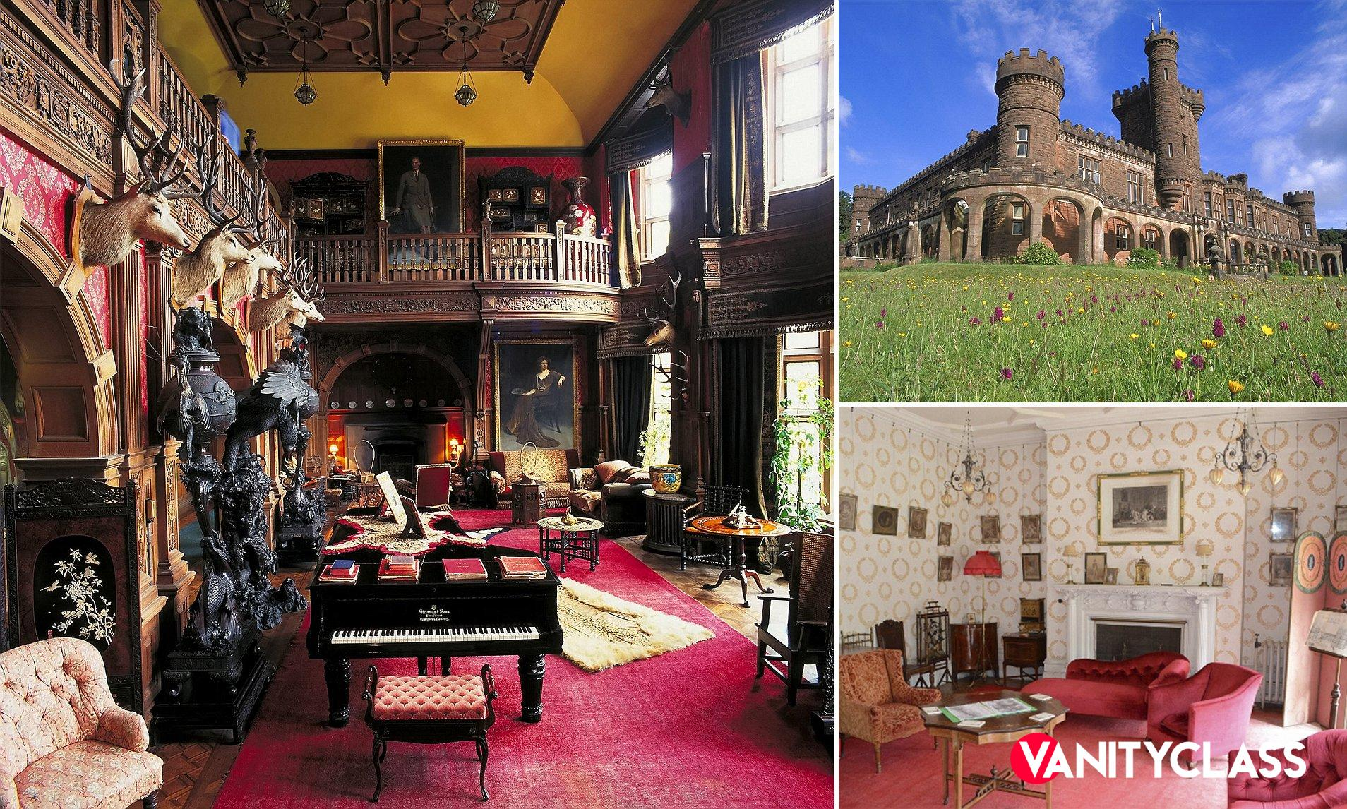 La tentazione del Principe Carlo, Kinloch Castle
