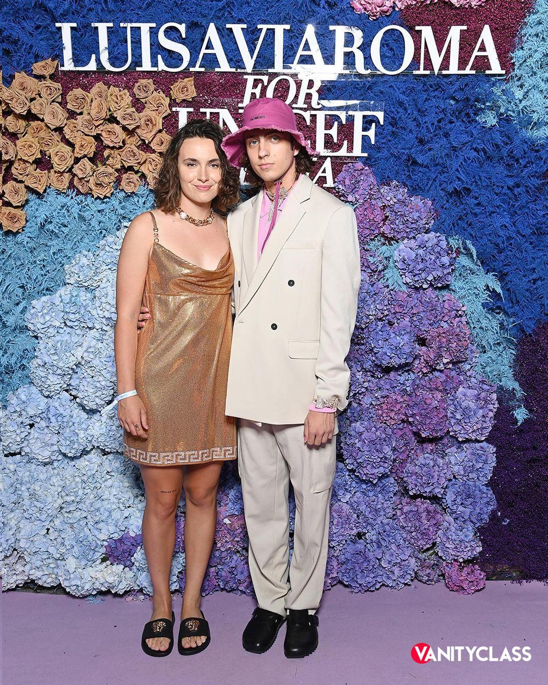 Kate Perry e Orlando Bloom per LuisaViaRoma Unicef Italia