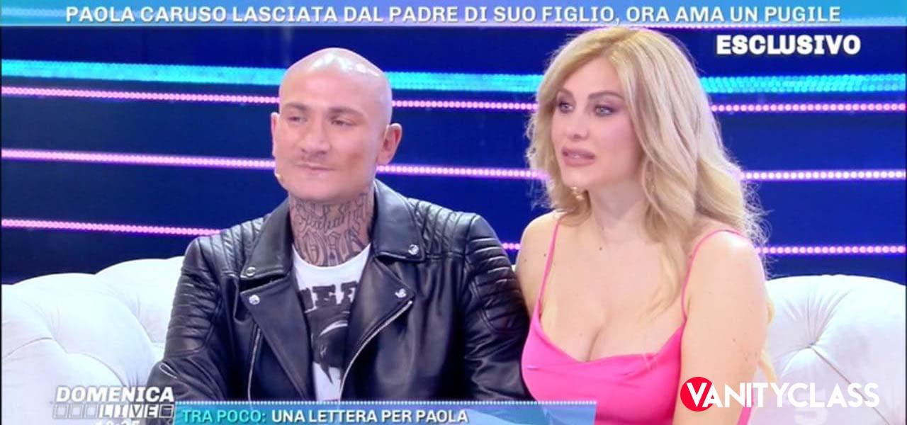 Paola Caruso, l'ex compagno si scaglia contro di lei