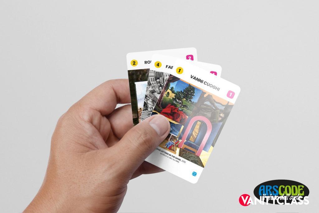 Arscode, il gioco dell'arte in un mazzo di carte d'autore
