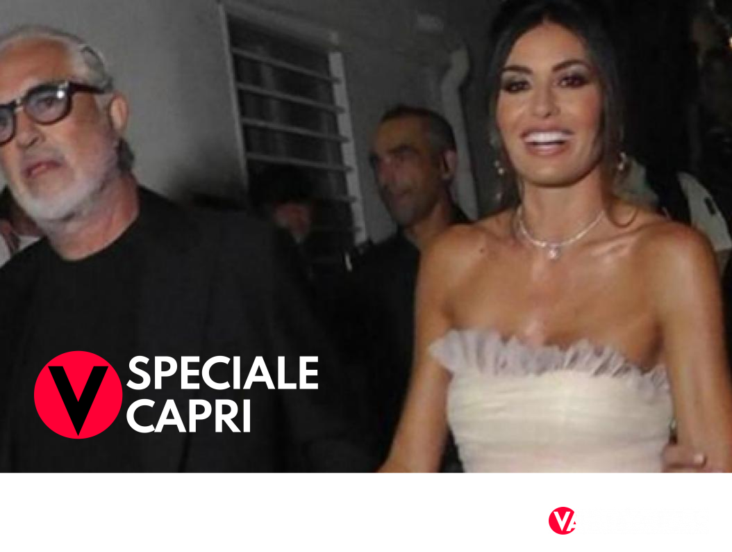 Briatore e Gregoraci mano nella mano a Capri