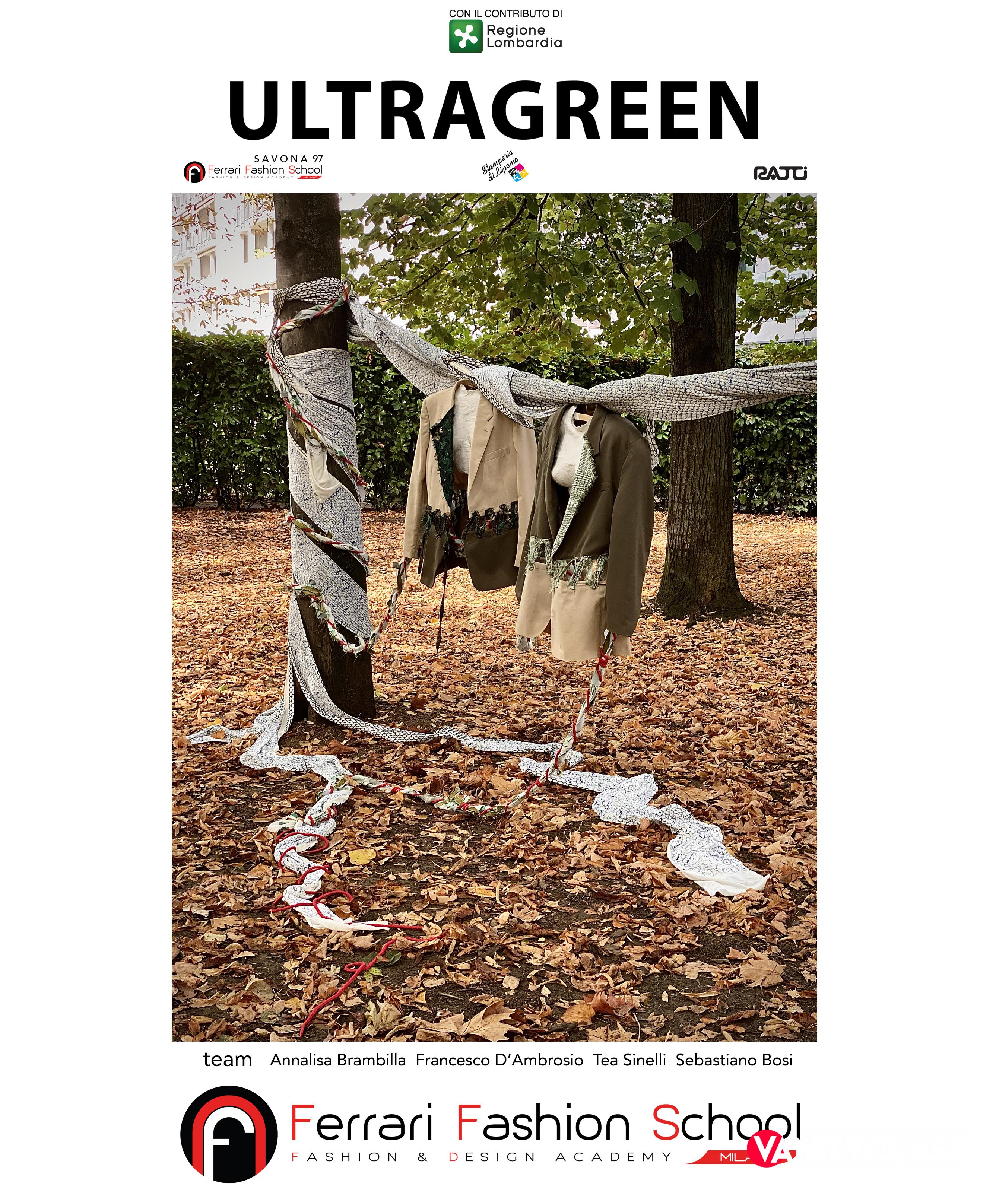 Ferrari Fashion School: Ultragreen | Rosso Valentino