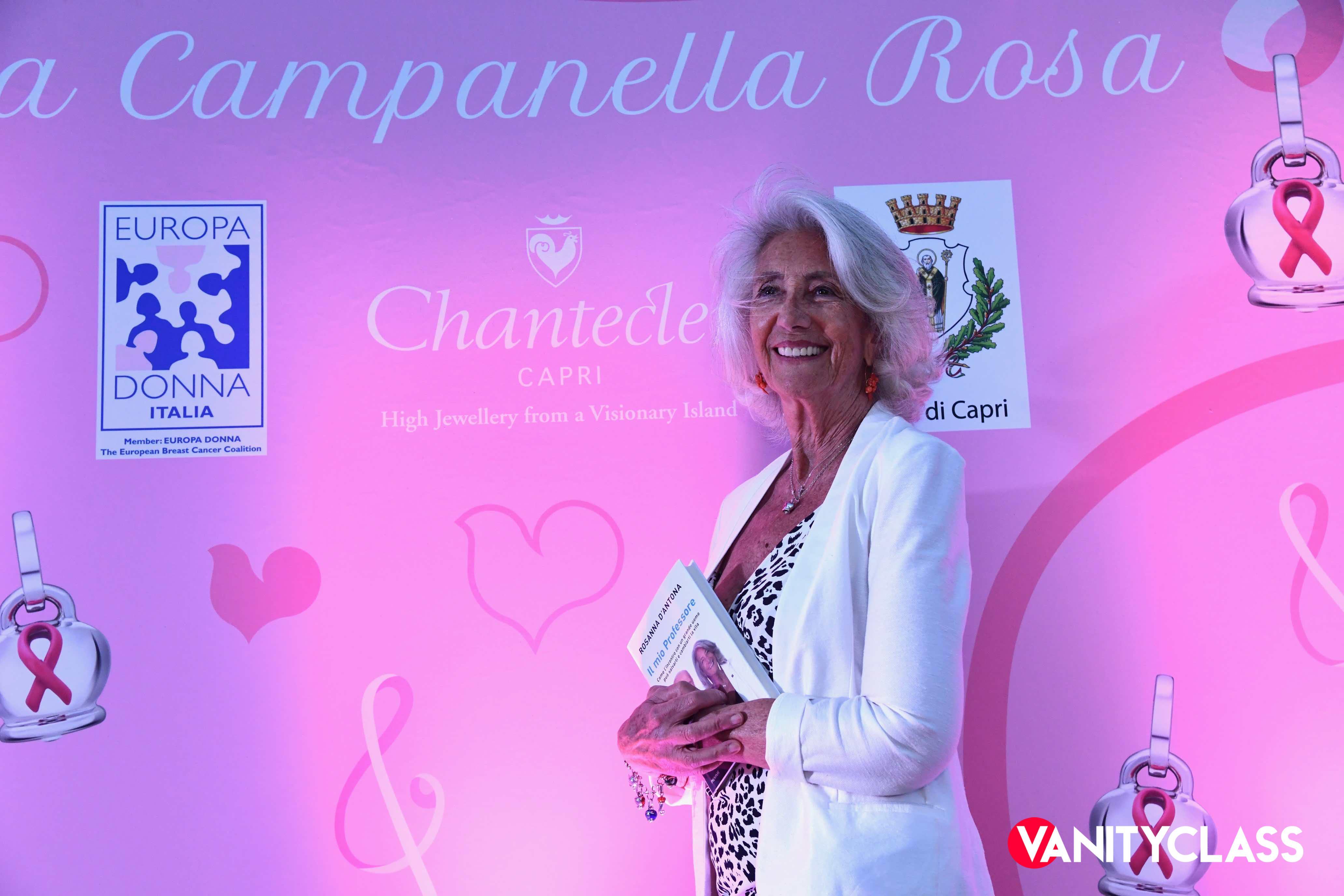 I Faraglioni e la Campanella di Chantecler in rosa