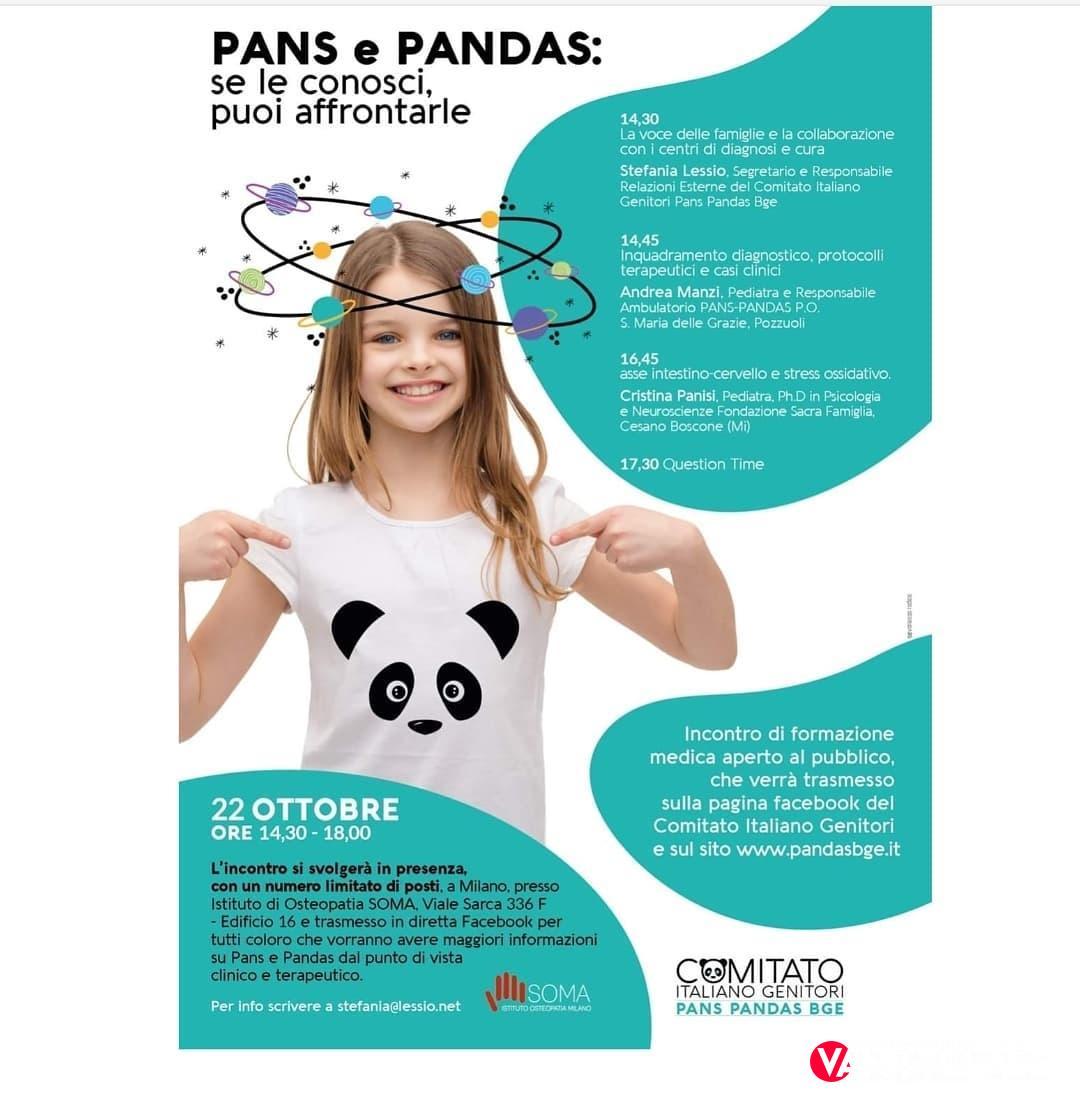 "Sindrome Pandas/Pans: ""L'Italia si colora di verde"""