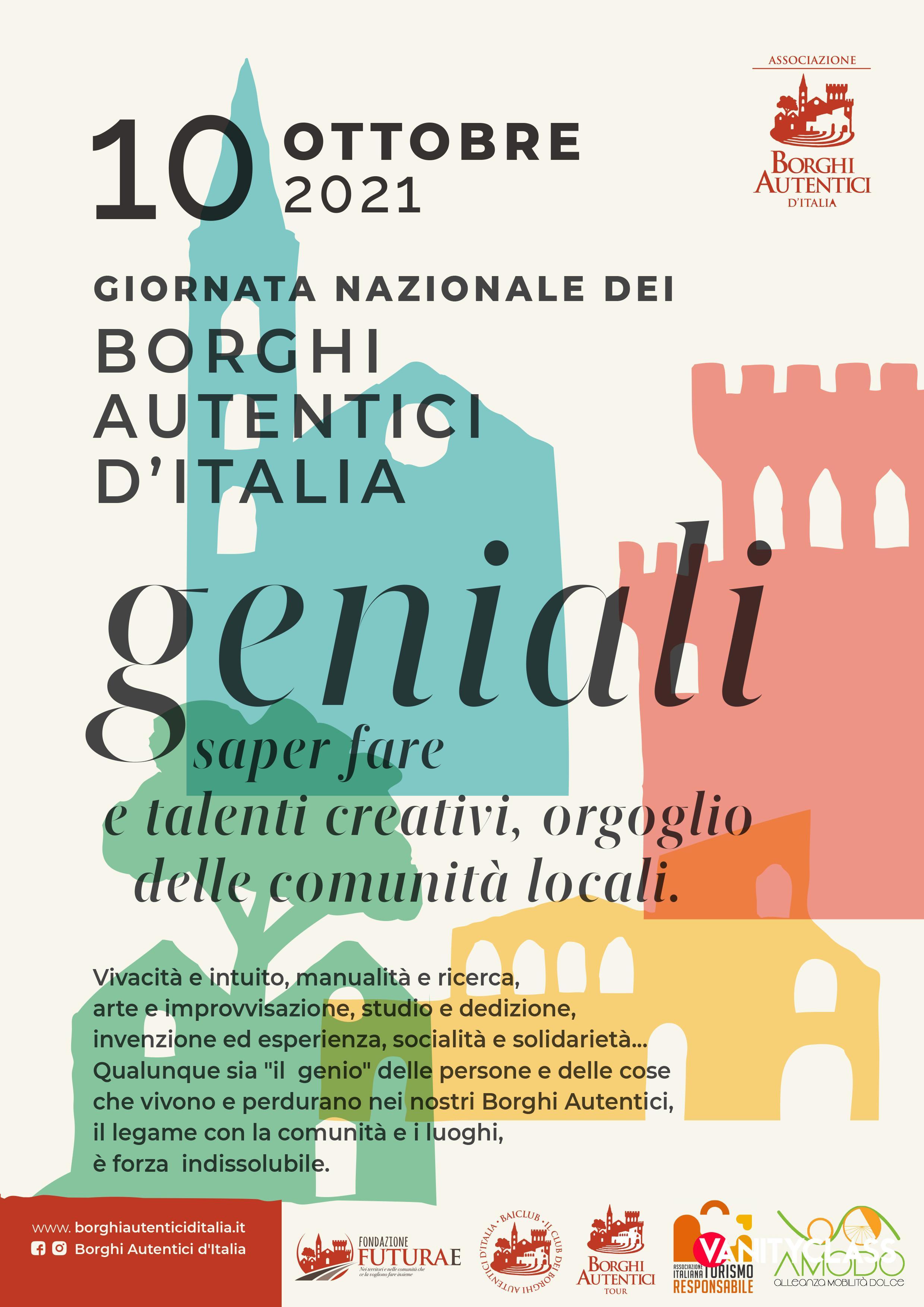 La Giornata Nazionale dei Borghi Autentici d'Italia